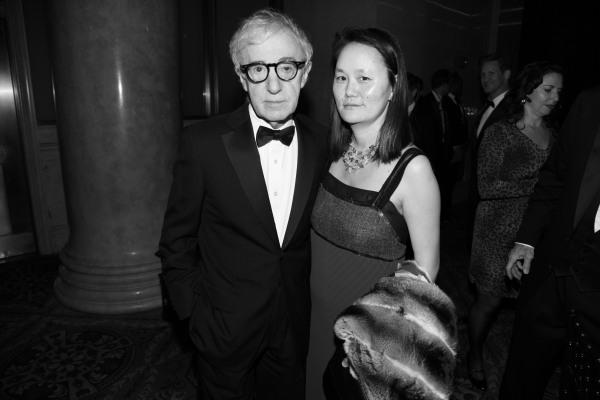 Woody Allen et sa femme