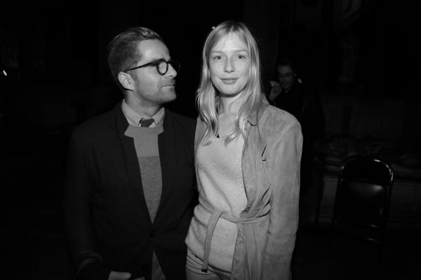 Yorgo Tloupas et Hester Esmé Velthuis