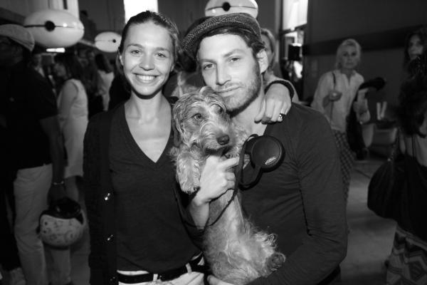 Emilie Marant et le designer Ora Ito
