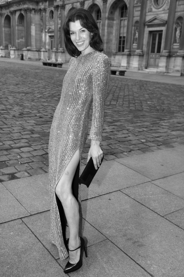 l'actrice et mannequin Mila Jovovich