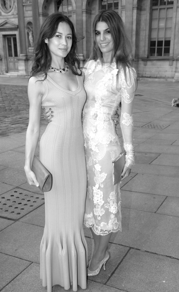 L'actrice Olga Kurylenko et egerie Dolce Gabbana Bianca Brandolini