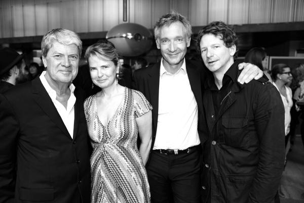 L'homme d'affaire Yves Carcelle, Sophie de Suarez d'Aulan, le PDG de Chloé Geoffroy de la bourdonnaye et le joailllier Lorenz Bäumer